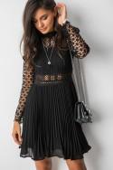 Mariele Sukienka Plisowana Black