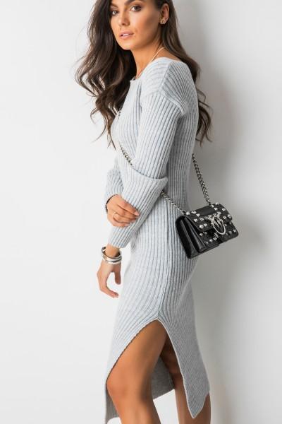 Juli Dopasowana Sukienka Grey