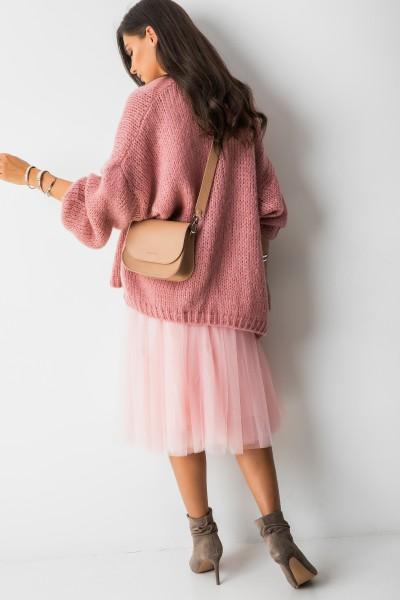Krótki Kardigan Moher Pink