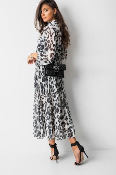 Catherina Sukienka Maxi Panther Grey