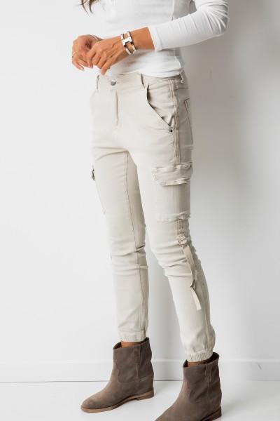 RD5513 Spodnie Beż