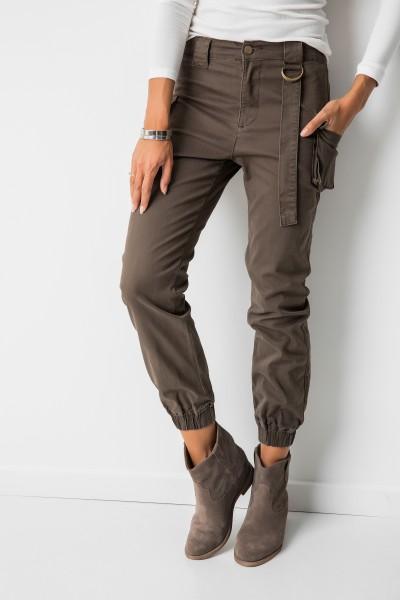 C2812 Spodnie Mokka