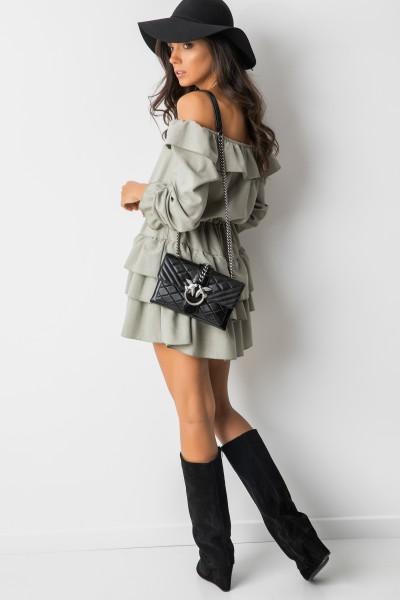 Anika Sukienka Hiszpanka Khaki