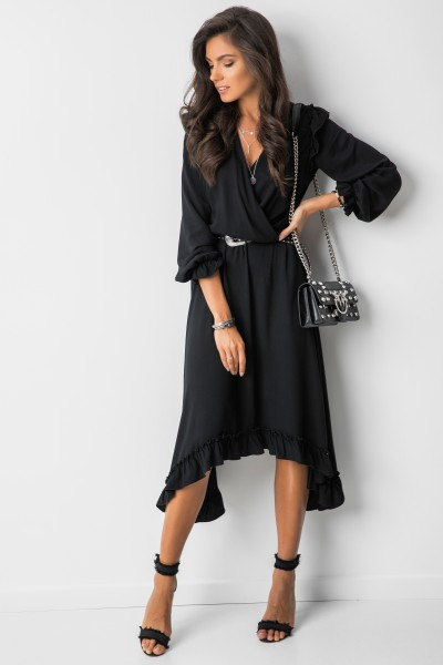 Elisabet Sukienka Midi Black
