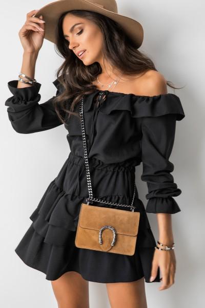 Anika Sukienka Hiszpanka Black