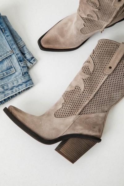 Kozaki Cappucino Cowboy Boots