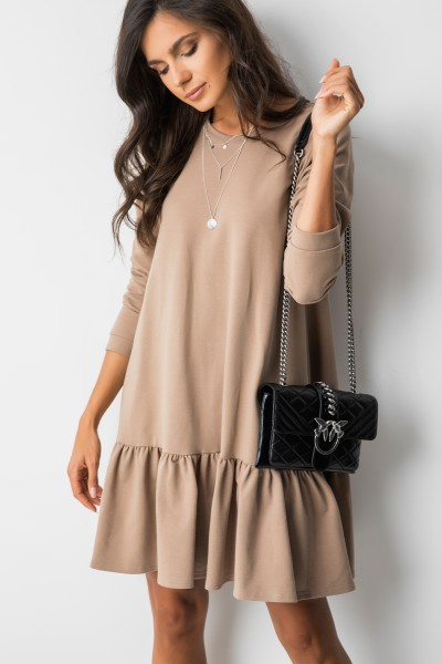 Frances Sukienka Beż