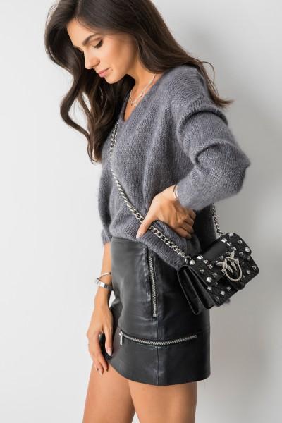 Isak Sweter Oversize Grey