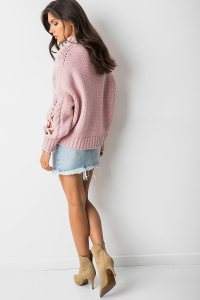 Harii Sweter Oversize Róż