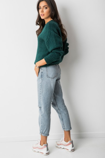 Tobias Sweter Oversize Moher Green