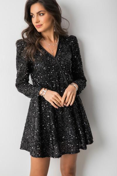 Manar Sukienka Black