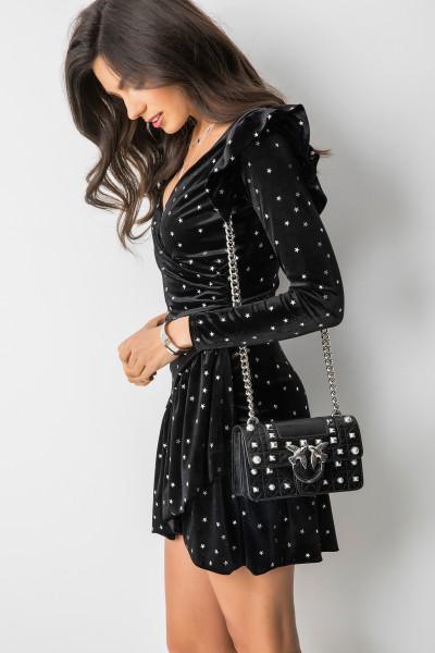 Kari Sukienka Mini Stars Black