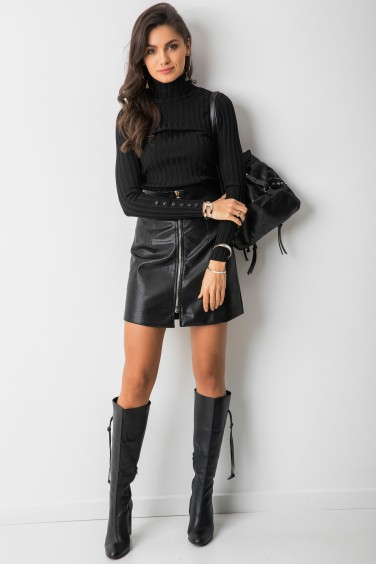 SK776A Spódniczka Mini Black