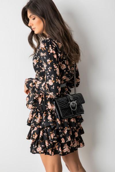 Gaja Sukienka Flowers Black