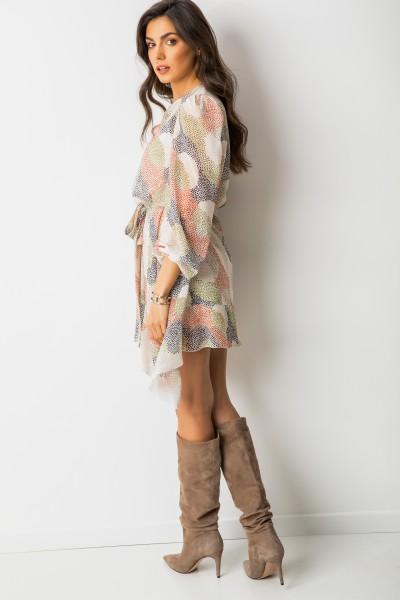 Malia Sukienka Kropki Pastel