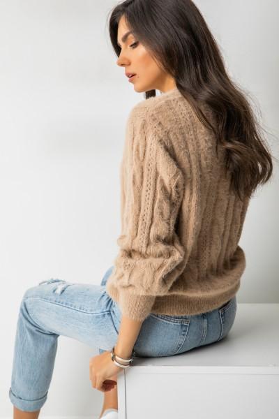 Serhio Sweter Beż
