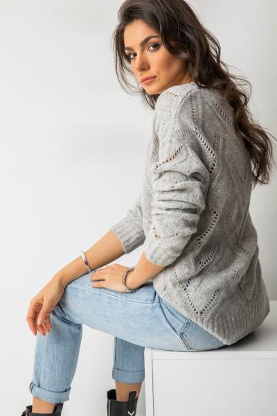 Casper Sweter Grey