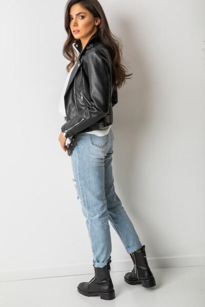 HY025 Kurtka Ramoneska Black