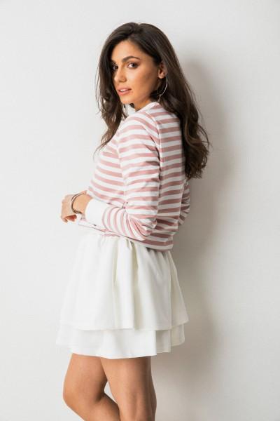 Olivia Bluza Paski Róż