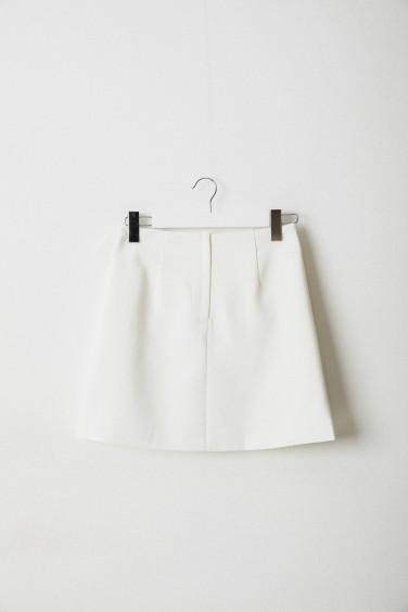 SK794 Spódniczka Mini White