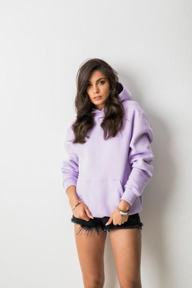 Sofi Bluza Kaptur Violet