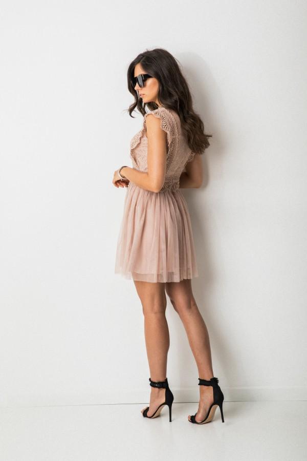 Sukienkowo Dla Kobiet Z Pasja Dresses Lace Dress Pink Dress